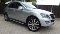 USED 2011 11 MERCEDES-BENZ M CLASS ML300 CDI BLUEEFFICIENCY GRAND EDITION 5dr AUTO HUGE Spec, Camera, Sat Nav