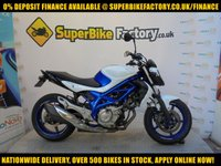 USED 2012 12 SUZUKI GLADIUS 650 650cc 0% DEPOSIT FINANCE AVAILABLE GOOD & BAD CREDIT ACCEPTED, OVER 500+ BIKES IN STOCK