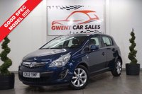 USED 2012 12 VAUXHALL CORSA 1.4 ACTIVE AC 5d 98 BHP **IDEAL FIRST CAR,, DRIVES SUPERB**