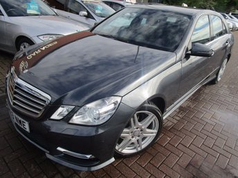 2013 MERCEDES-BENZ E CLASS 2.1 E220 CDI BLUEEFFICIENCY S/S SPORT 4d 170 BHP £13990.00