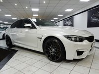 2017 BMW M3 3.0 M3 COMPETITION PACKAGE AUTO 450 BHP £49850.00