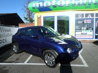 USED 2014 14 NISSAN JUKE 1.5 TEKNA DCI 5d 110 BHP 12 MONTHS MOT... 6 MONTHS WARRANTY.. FINANCE AVAILABLE