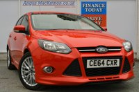 USED 2014 64 FORD FOCUS 1.6 ZETEC S TDCI 5d 113 BHP FULL SERVICE HISTORY