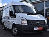 USED 2012 61 FORD TRANSIT 2.2 T280 99 BHP ONE OWNER+SWB SEMI-HIGH TOP