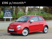 2013 FIAT 500 1.2 COLOUR THERAPY 3d 69 BHP £5250.00