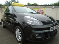 USED 2007 07 RENAULT CLIO 1.4 DYNAMIQUE 16V 5d 98 BHP GUARANTEED TO BEAT ANY 'WE BUY ANY CAR' VALUATION ON YOUR PART EXCHANGE