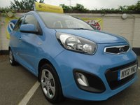 USED 2012 12 KIA PICANTO 1.0 1 5d 68 BHP GUARANTEED TO BEAT ANY 'WE BUY ANY CAR' VALUATION ON YOUR PART EXCHANGE