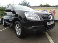 USED 2009 59 NISSAN QASHQAI 1.6 VISIA 5d 113 BHP GUARANTEED TO BEAT ANY 'WE BUY ANY CAR' VALUATION ON YOUR PART EXCHANGE