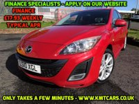 USED 2010 10 MAZDA 3 1.6 SPORT 5d 105 BHP 3 Months National Warranty - MOT 31/03/2018 - Stunning Mica Red