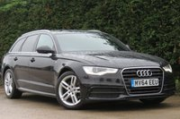 USED 2014 64 AUDI A6 2.0 AVANT TDI ULTRA S LINE 5d AUTO 188 BHP AA DEALER PROMISE, DRIVE AWAY TODAY