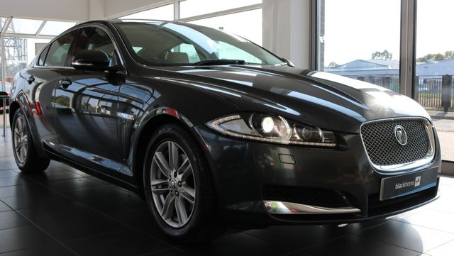 2012 62 JAGUAR XF 2.2 D LUXURY 4d AUTO 163 BHP