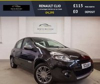 USED 2011 11 RENAULT CLIO 1.1 DYNAMIQUE TOMTOM 16V 5d 75 BHP