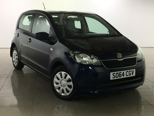 View our 2014 64 SKODA CITIGO 1.0 SE 12V 5d 59 BHP