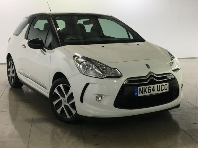 View our 2014 64 CITROEN DS3 1.2 DSIGN 3d 82 BHP