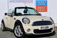 USED 2011 11 MINI CONVERTIBLE 1.6 ONE 2d 98 BHP IMMACULATE CONDITION