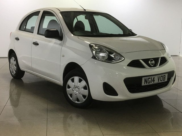 View our 2014 14 NISSAN MICRA 1.2 VISIA 5d 79 BHP