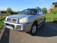 2004 HYUNDAI SANTA FE 2.4 GSI 5d 144 BHP £1290.00