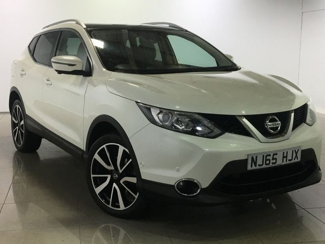 View our 2015 65 NISSAN QASHQAI 1.5 DCI TEKNA 5d 108 BHP