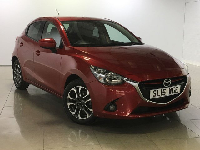 View our 2015 15 MAZDA 2 1.5 SPORT NAV 5d AUTO 89 BHP