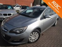 USED 2013 63 VAUXHALL ASTRA 1.6 EXCLUSIV 5d 113 BHP LOW MILES NEW MODEL