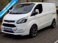 2013 FORD TRANSIT CUSTOM 2.2 FWD 270 SWB L1H1 LOW ROOF 100BHP 6 SPEED £9995.00