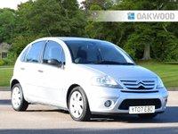 2007 CITROEN C3 1.6 SX 16V 5d AUTO 108 BHP £1995.00