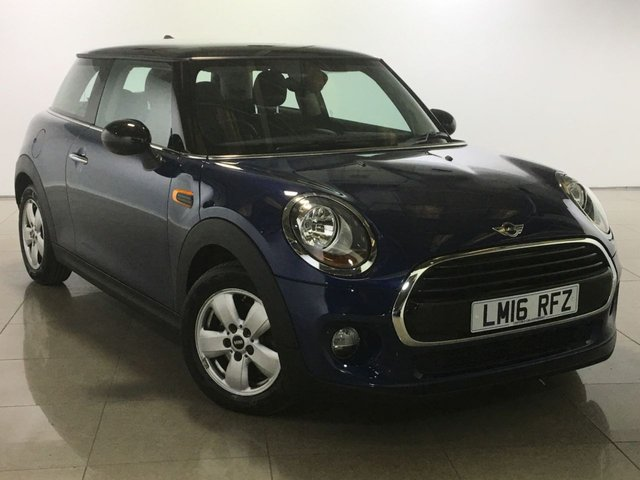 View our 2016 16 MINI HATCH COOPER 1.5 COOPER D 3d AUTO 114 BHP