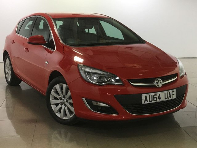 View our 2014 64 VAUXHALL ASTRA 2.0 ELITE CDTI S/S 5d 163 BHP