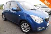 USED 2014 63 VAUXHALL AGILA 1.2 SE 5d AUTO 93 BHP LOVELY LOW MILEAGE EXAMPLE