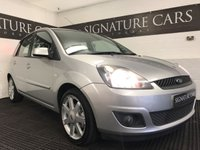 USED 2008 08 FORD FIESTA 1.4 ZETEC BLUE 5d 80 BHP *FINANCE AVAILABLE, 12 MONTHS MOT*