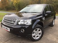 2013 LAND ROVER FREELANDER 2 2.2 TD4 GS 5d 150 BHP FACELIFT LEATHER PDC ONE OWNER FSH £11790.00