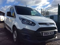 2014 FORD TRANSIT CONNECT LWB 1.6 210 P/V 114 BHP 1 OWNER FSH NEW MOT £8000.00