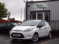 USED 2011 11 FORD FIESTA 1.6 ECONETIC TDCI DPF 1d 94 BHP SMALL 1.6 DIESEL VAN. ECONOMICAL DRIVE. GREAT CONDITION.