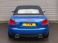 USED 2006 06 AUDI S4 4.2 QUATTRO 2d 339 BHP   SPRINT BLUE+XENON+SAT NAV+PDC