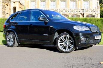 2010 BMW X5 3.0 XDRIVE30D M SPORT 5d AUTO 241 BHP £16990.00