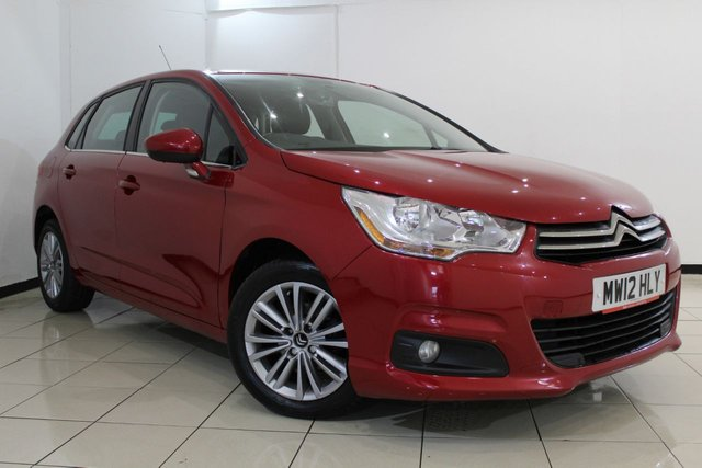 View our 2012 12 CITROEN C4 1.6 VTR PLUS HDI 5DR 91 BHP