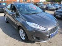 USED 2016 16 FORD FIESTA 1.6 ZETEC 5d AUTO 104 BHP 1 OWNER + GREAT VALUE 16 PLATE