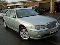 USED 2002 52 ROVER 75 2.5 CLUB SE 4d AUTO 174 BHP NEW MOT ON SALE+GREAT VALUE,