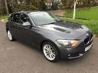 USED 2011 61 BMW 1 SERIES 1.6 116I SE 5d 135 BHP NEW SHAPE FULL LEATHER PARK DISTANCE FSH