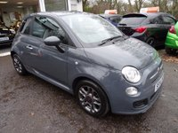 USED 2014 14 FIAT 500 1.2 S 3d 69 BHP Low Mileage, Full Service History (Fiat + ourselves), MOT until October 2018 (no advisories), One Previous Owner, Great on fuel economy! Only £30 Road Tax!