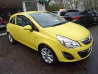 USED 2012 62 VAUXHALL CORSA 1.2 ACTIVE AC 3d 83 BHP Very Low Mileage, Comprehensive Vauxhall Service History + Just Serviced by ourselves, MOT until October 2018 (no advisories), One Previous Owner, Great on fuel!