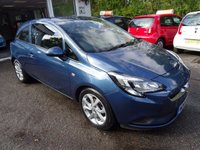 USED 2015 64 VAUXHALL CORSA 1.2 EXCITE AC 3d 69 BHP Just Serviced by ourselves, NEW MOT (to be completed), One Previous Owner, Great on fuel! Low Insurance Group!