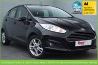USED 2015 15 FORD FIESTA 1.6 ZETEC 5d AUTO 104 BHP 1 OWNER + CITY PACK + FSH