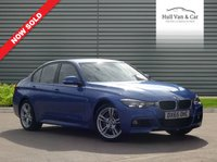 USED 2015 65 BMW 3 SERIES 3.0 335D XDRIVE M SPORT 4d AUTO 308 BHP LEATHER, NAV, BLUETOOTH, POWER