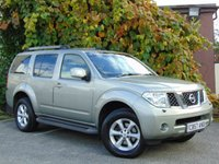 USED 2008 57 NISSAN PATHFINDER 2.5 AVENTURA DCI 5d AUTO 4x4 **LUXURY 7 SEATER**AUTOMATIC**