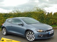 USED 2009 59 VOLKSWAGEN SCIROCCO 2.0 GT 3d 200 BHP ***128 POINT AA INSPECTED ***PRICE REDUCED***