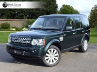 USED 2011 61 LAND ROVER DISCOVERY 4 3.0 4 SDV6 HSE 5d AUTO 255 BHP 2 OWNERS ALMOND LEATHER