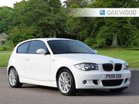 2009 BMW 1 SERIES 2.0 116D M SPORT 3d 114 BHP £6795.00