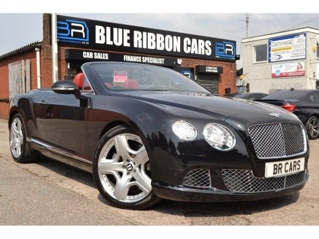 2012 12 BENTLEY CONTINENTAL 6.0 GTC 2d AUTO 567 BHP