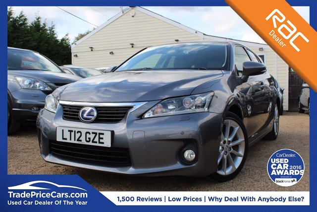 View our 2012 12 LEXUS CT 1.8 200H SE-L PREMIER 5d 136 BHP